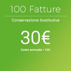 Conservazione Sostitutiva 100 Fatture