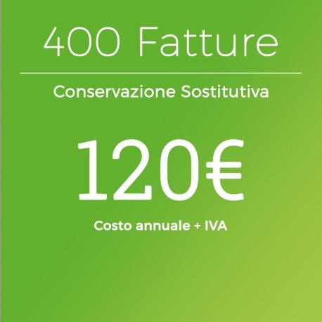 Conservazione Sostitutiva 400 Fatture