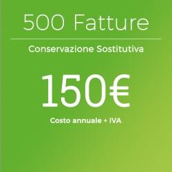 Conservazione Sostitutiva 500 Fatture