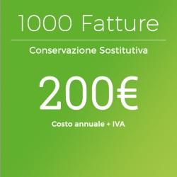 Conservazione Sostitutiva 1000 Fatture