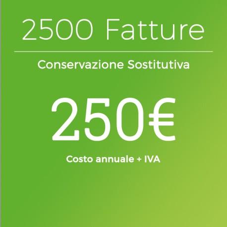 Conservazione Sostitutiva 2500 Fatture