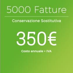 Conservazione Sostitutiva 5000 Fatture